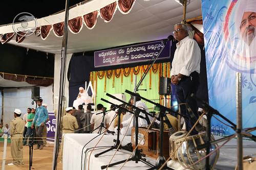 SNM Branch Sanyojak, Prem Mirpuri from Vishakhapatnam, Andhra Pradesh
