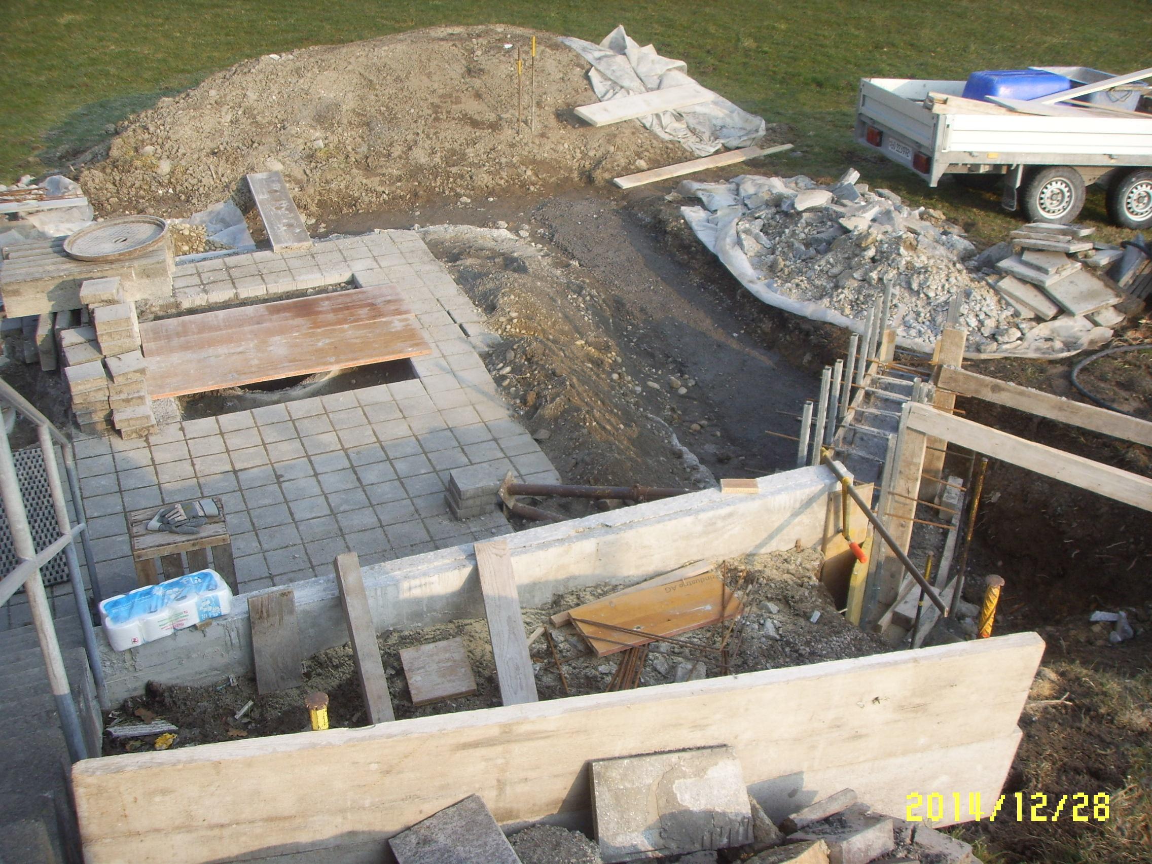 Umbau Grillplatz