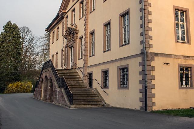Schloss Schieder 2 Hintereingang