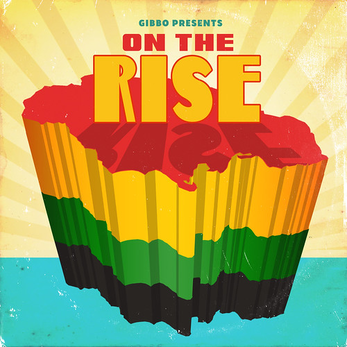 "Gibbo Presents ""On The Rise"" (Front) 
