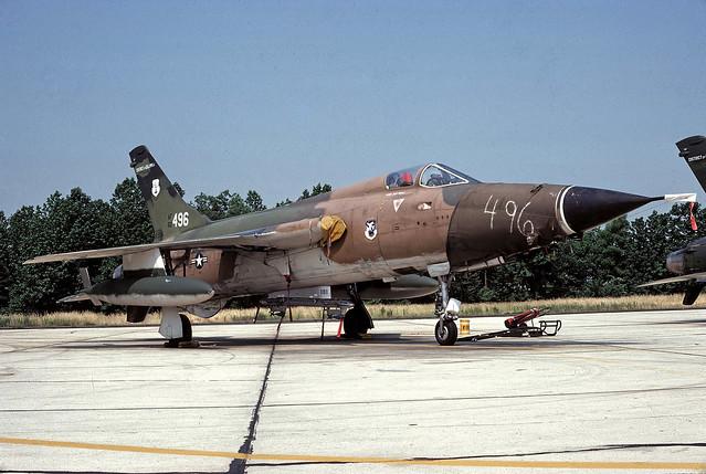 F-105D Thunderchief 60-0496 121st TFS DC ANG