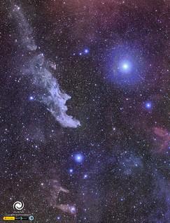 Witch Head Nebula | by StarryEarth
