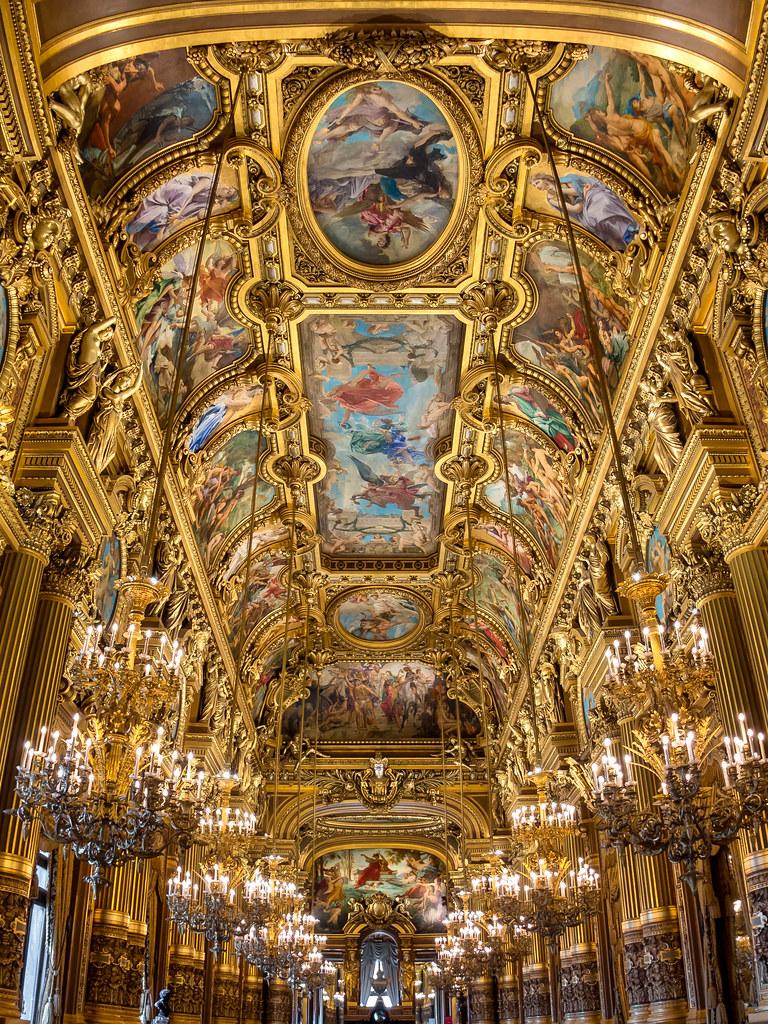 Grand Foyer Of The Opera Garnier  Paris
