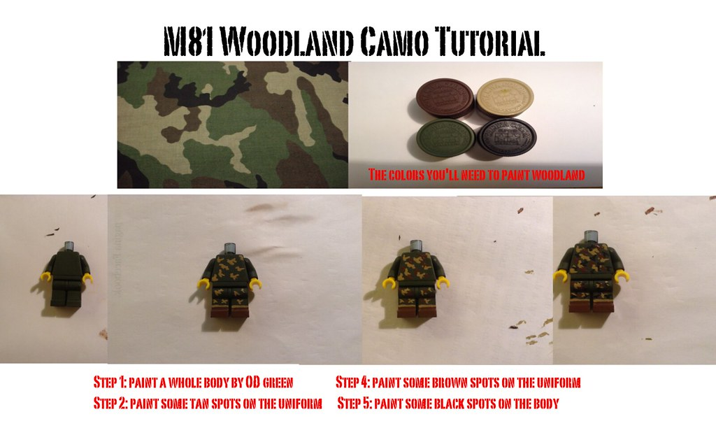 M81 Woodland Tutorial :D | Sorry for the bad editing guys! f