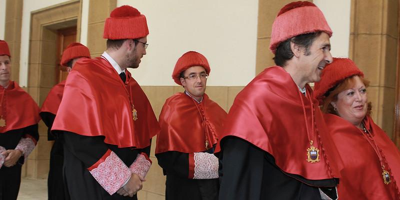Apertura de curso académico 2013-2014. Universidad de Deusto
