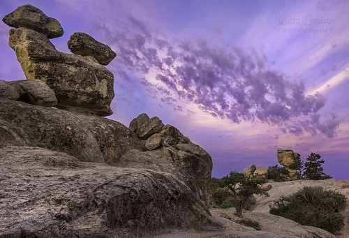 arizona mountain clouds sunrise hoodoos mountlemmon mattgranz mattgranzzenfoliocom