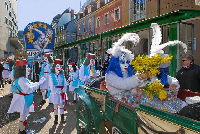 Basler Fasnacht 2012. Basel Carnival 2012. No.204.