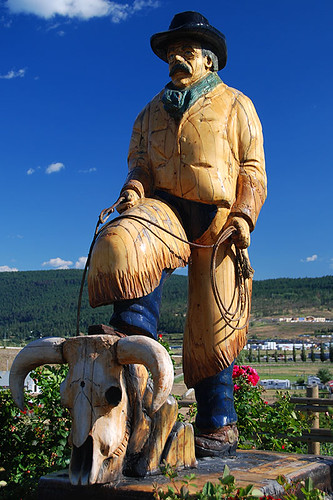 Williams Lake is Cowboy Country, Cariboo, British Columbia, Canada