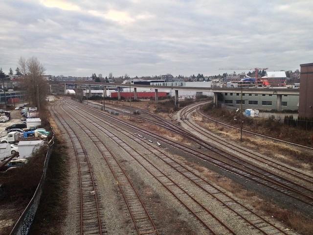 Tracks Under Terminal