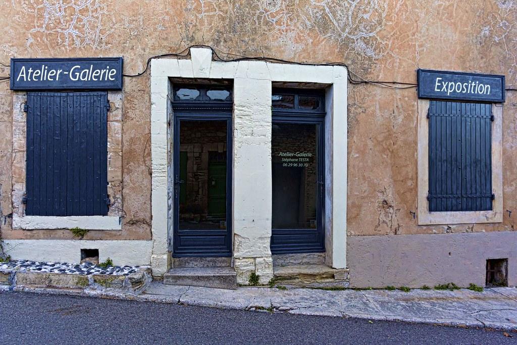 Gordes, atelier galerie