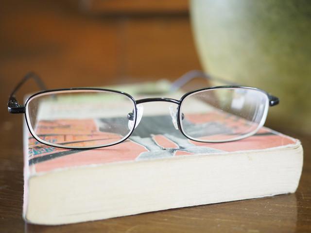 © Pocket Book Glasses Nightstand - Buch Taschenbuch Brille ©