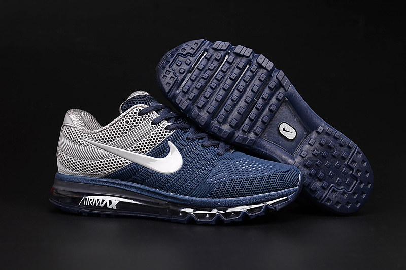 d92ea5c9f1 ... Cheap Air Max 2017 Grey Navy Blue,www.airsneakers.org | by www