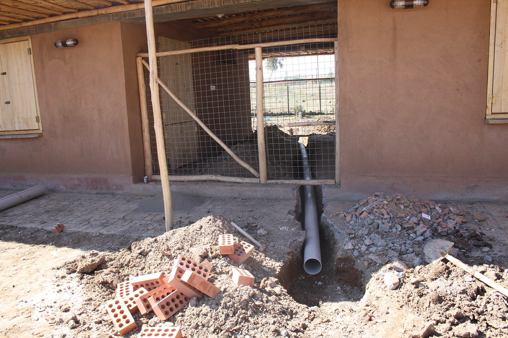 Drainage Pipe   The Healing Garden In Chamchamal Is A Projec ...