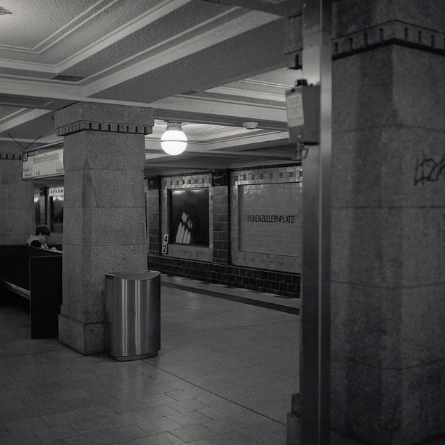 Urban Solitude - Sitting on a Bank