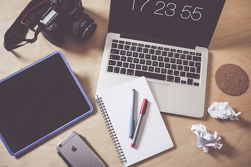 creative designer photographer workspace | by perzonseowebbyra