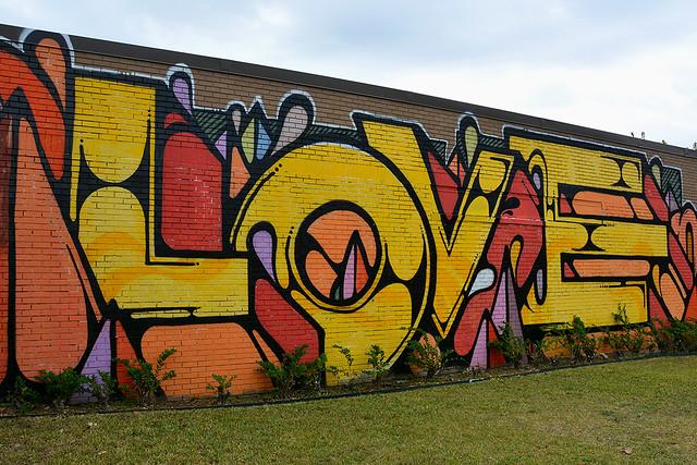 Houston - Colourful Mural