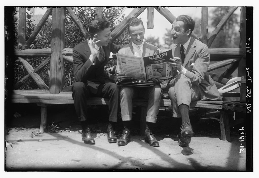 All-Stars trio (LOC)