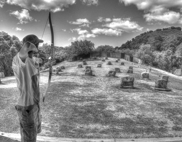 Archery in B&W