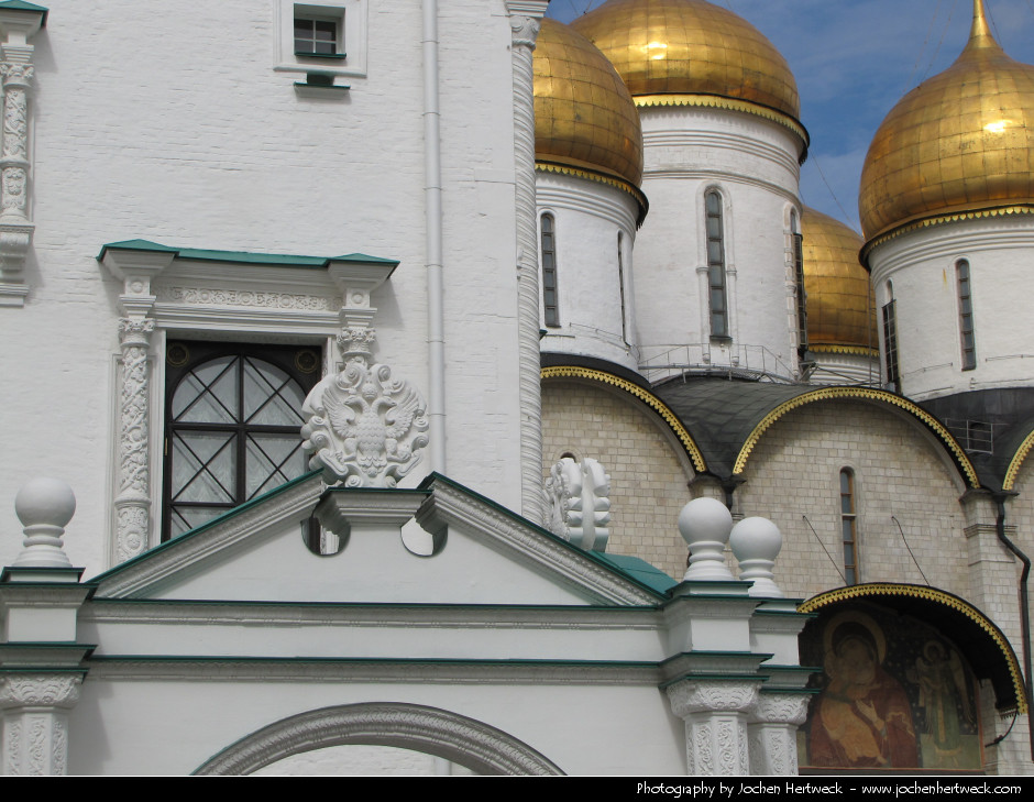 Cathedral of the Dormition, Kremlin, Moscow, Russia
