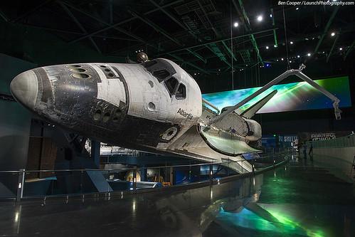 nasa atlantis kennedyspacecenter ksc spaceshuttle orbiter kennedyspacecentervisitorcomplex kscvc