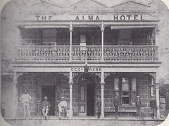 Alma Hotel, ca late 1890s