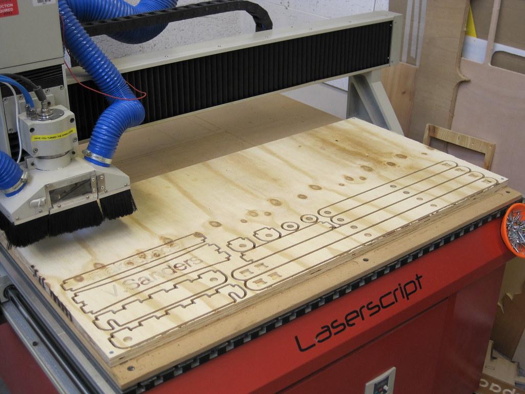 Surprising Side X Folding Chair Plate On Cnc Bed Vincent Sanders Flickr Ibusinesslaw Wood Chair Design Ideas Ibusinesslaworg