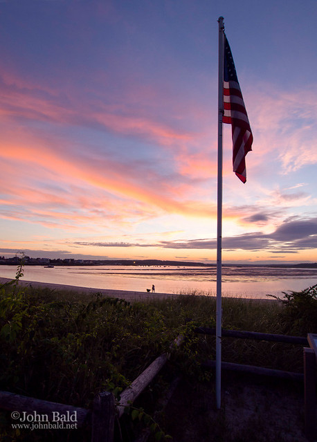 Sunset, Ferry Beach, Scarborough, Maine (30351-30353)