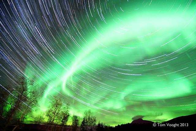 aurora star stacked