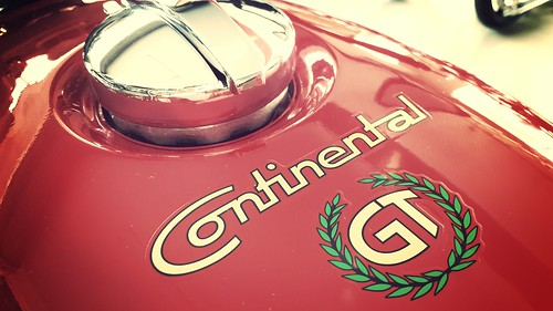 Royal Enfield continental GT cafe racer   by tarunactivity