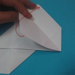 วิธีการพับกระดาษเป็นนกเพนกวิ้น 012