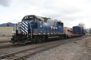 MRL  402 a GP35 @ Copper Street Missoula MT | by Kingmoor Fitter