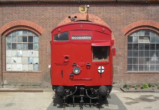 Tait train (Steamrail Open Day 2014)