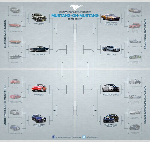 Mustang-on-Mustang Competition | Quarter Finals | by Ford Motor Company