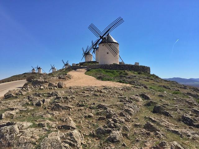 Cerro Calderico en Consuegra (Toledo)