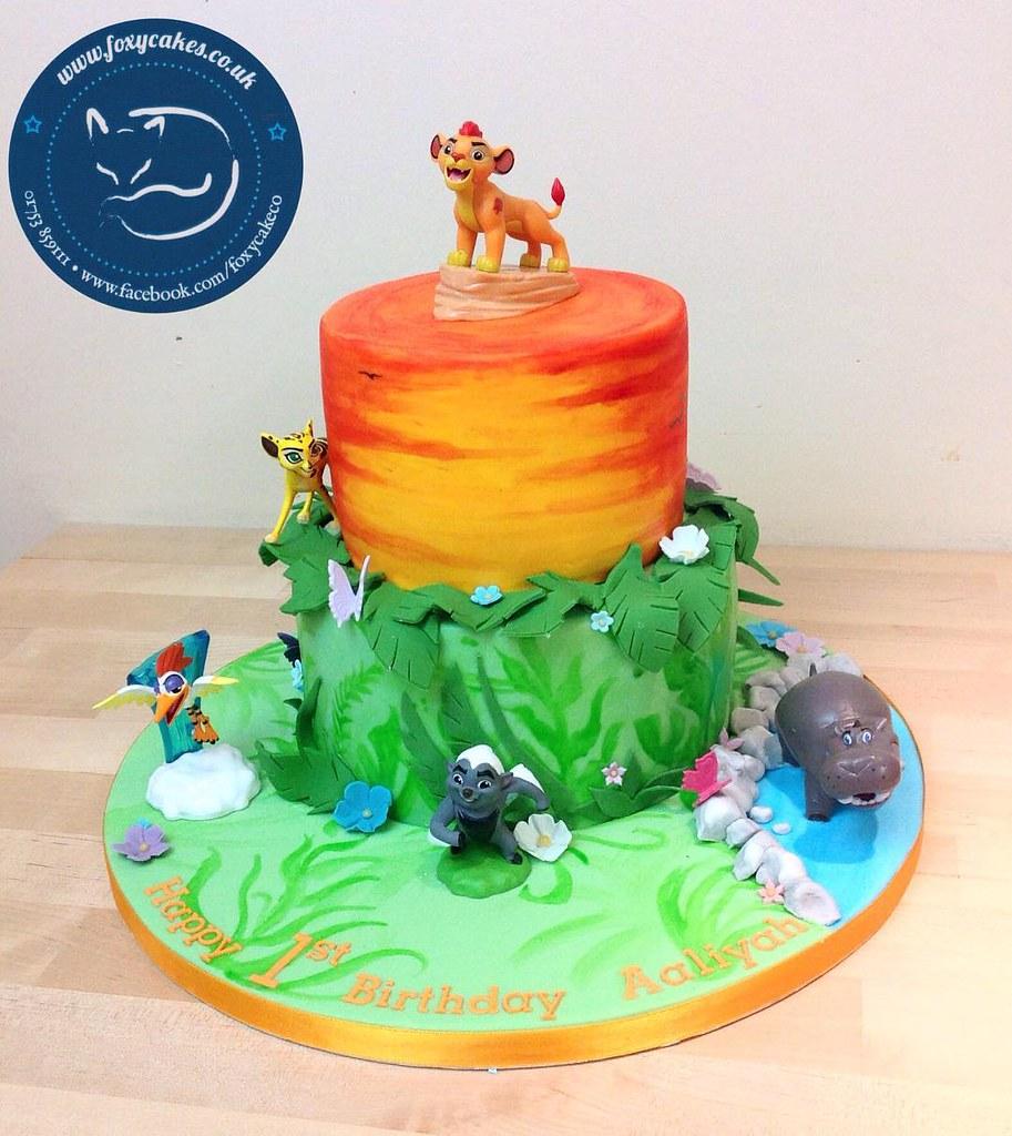 Super Cute Lion Guard Cake Cake Eton Windsor Thefoxyc Flickr