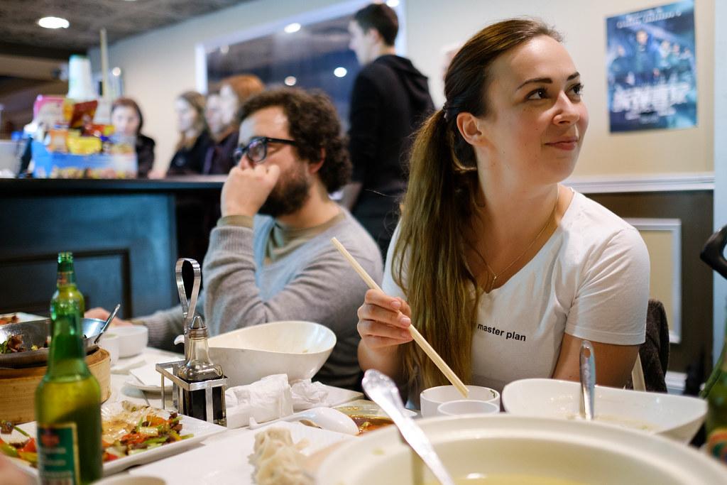 Dinner in Toronto