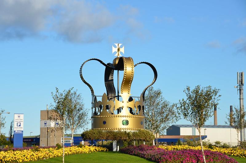 Corona Larne, Irlanda del Norte