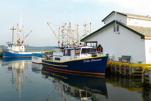 summer canada water newfoundland reflections boats lumix dildo 10000views cans2s fz200
