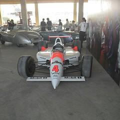 Primeiro carro do Fittipaldi campeão das 500 de Indianápolis