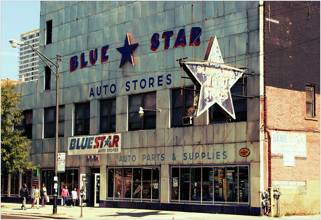 Star Auto Parts >> Blue Star Auto Parts This Store Located In A Building Tha Flickr