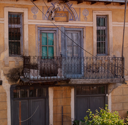 The balcony, if it stil hangs there!