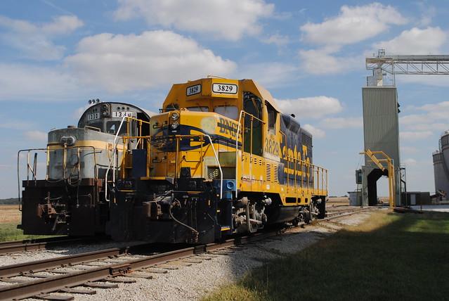 Prairie Central  CO-OP at Pontiac Illinois