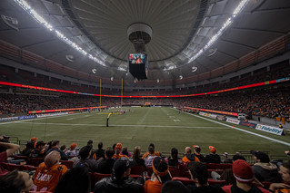 BC Lions vs Calgary Stampede/BC Place Nov 1st 2013 | by Ken Cheng Photography