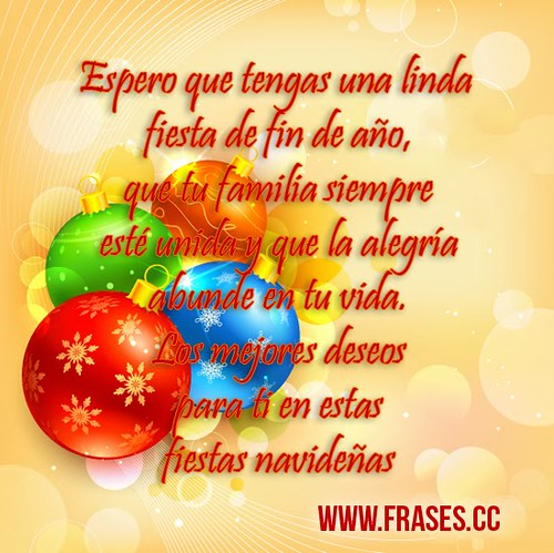 Frase De Navidad Con Frase De Familia Unida Para Esta Navi