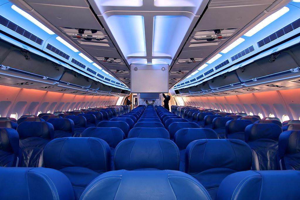 Airbus A310 Air Transat C Fdat Economy Class Totoro David D