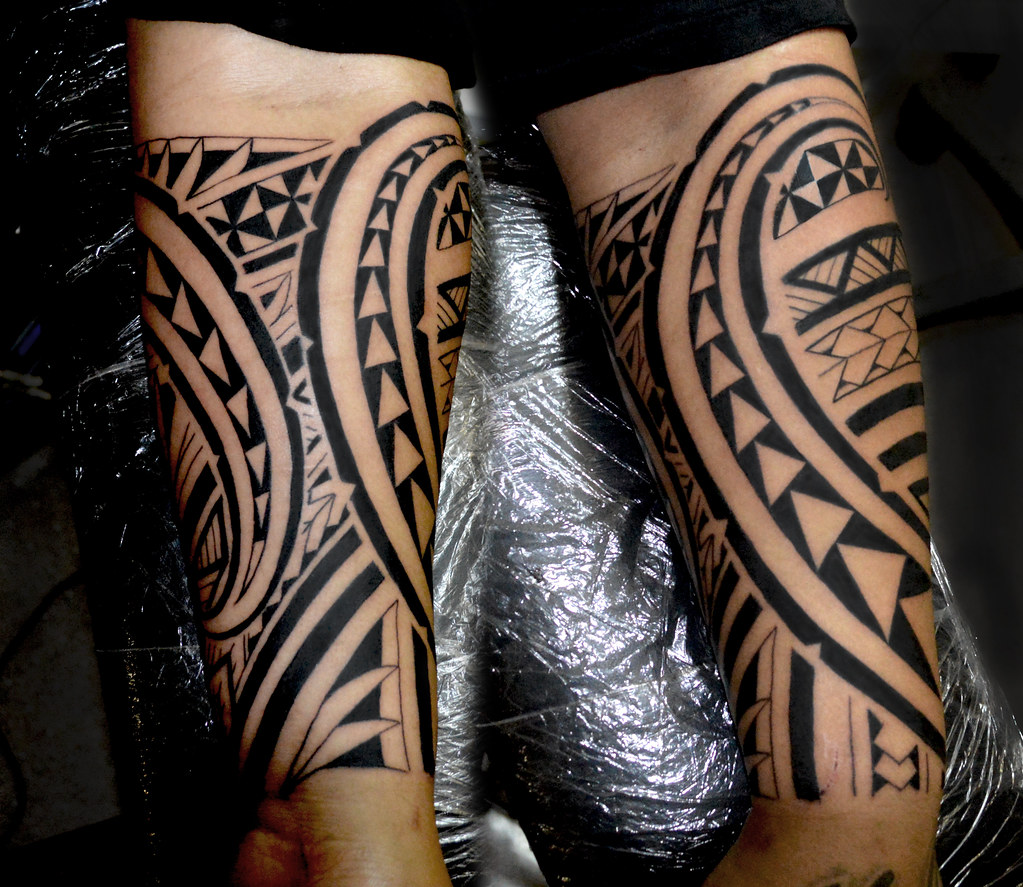 polynesian tattoo | hawaiian tattoo | Tasi Melah | Flickr