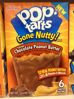 "Pop Tarts ""Gone Nutty"" Chocolate and Peanut Butter 