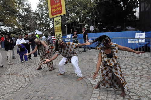 Bamboula 2000 at Congo Square New World Rhythms Festival 2014. Photo by Kichea S Burt.