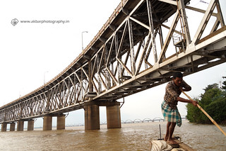 Rail cum Road Bridge on Godavari River 1 | by Akbar - Web Designer and Freelance Photographer