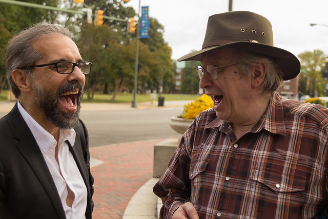 Olavo e Wagner Carelli - Foto: Mauro Ventura